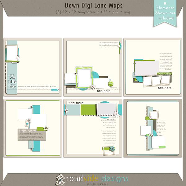 Down Digi Lane Maps