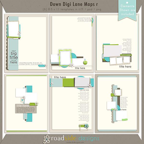 Down Digi Lane Maps r