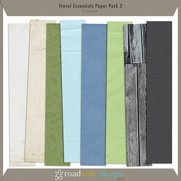 Travel Essentials Paper Pack 2
