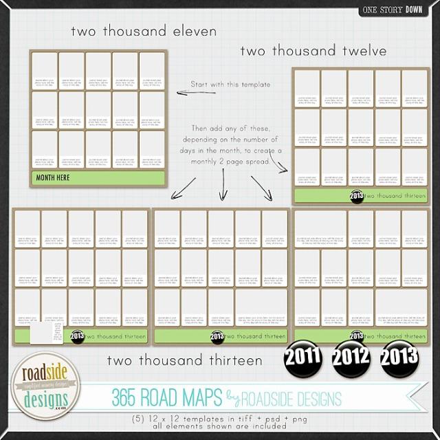 365 Road Maps